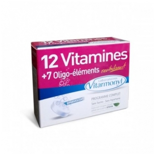 12 vitaminų + 7 mikroelementai, 24 tabletės.