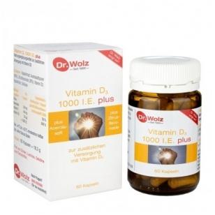 Dr. Wolz Vitamin D3 1000 I.E. plus N60