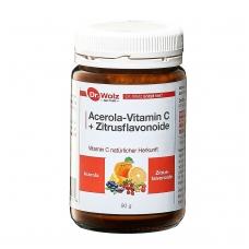 Acerola-Vitamin C + Zitrusflavonoide 90g.