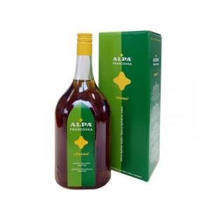 Alpa francovka lesana vaistažolinė tinktūra su sibirinės eglės ekstraktu 1000 ml.