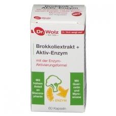 Brokkoliextrakt + Aktiv-Enzym N60 kaps.
