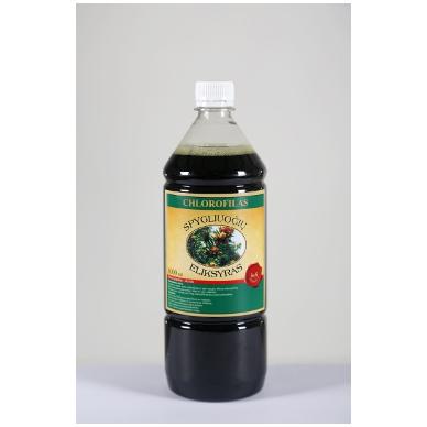Chlorofilas (plastikiniame butelyje) 1000 ml.