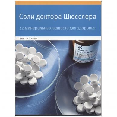Giunterio Ch. Chepeno knyga apie dr. Šiuslerio druskas