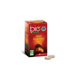 Maca + imbieras Bio Conseils 60 tablečių.