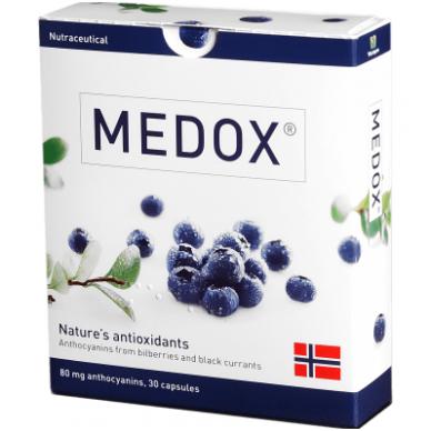 Medox ® – nutraceutikas antioksidantas N30