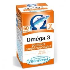 OMEGA 3 su natūraliu vitaminu E 60 kapsulių.