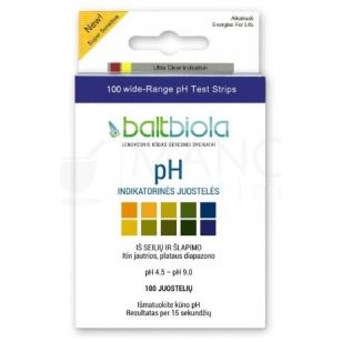 pH indikatorinės juostelės N100