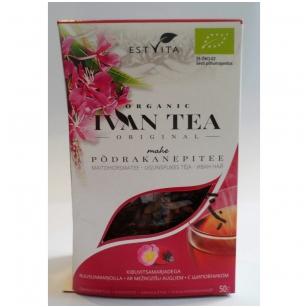 """Siauralapio gauromečio arbata """"Ivan chai"""" su eršketuogėmis (50g)."""