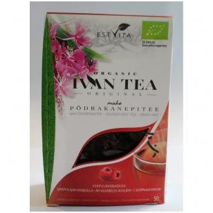 "Siauralapio gauromečio arbata ""Ivan chai"" su gudobele 50g."