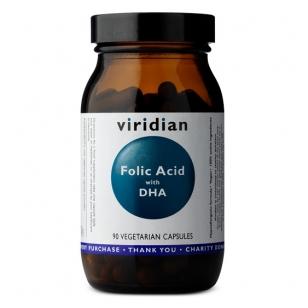 Viridian Folic Acid with DHA N90 kap.