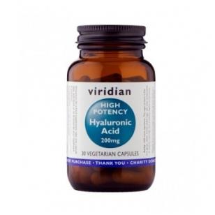 Viridian High Potency Hyaluronic Acid 200mg.N30 kap.