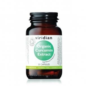 """Viridian"" maisto papildas Organic Curcumin Extract 30 kap."